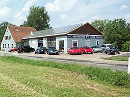 Außenanasicht der Kfz-Werkstatt in Birkach 1