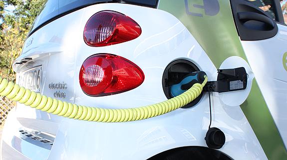 der Trend geht zum Elektro-Fahrzeug