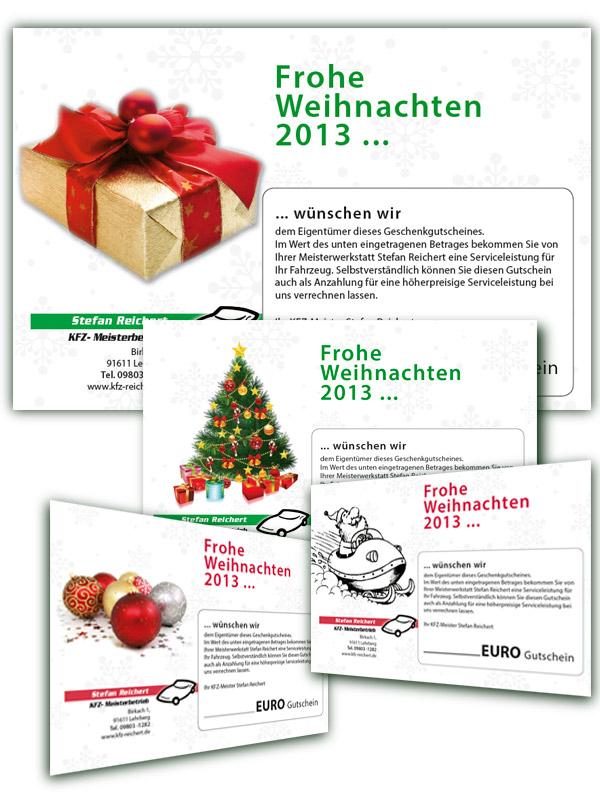 Weihnachts-Gutschein 2013